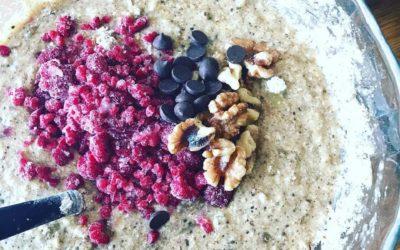 Healing Postpartum Muffins – gluten & dairy free